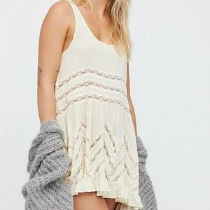 Free people voile an lace tea combo L